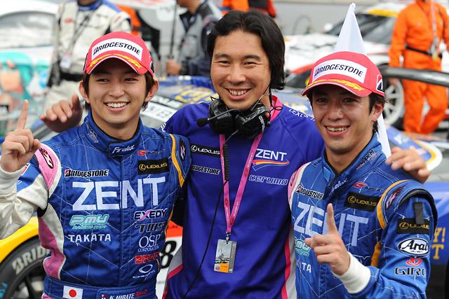 ZENT SC430が劇的逆転V! 地元富士で2年ぶり勝利(1)