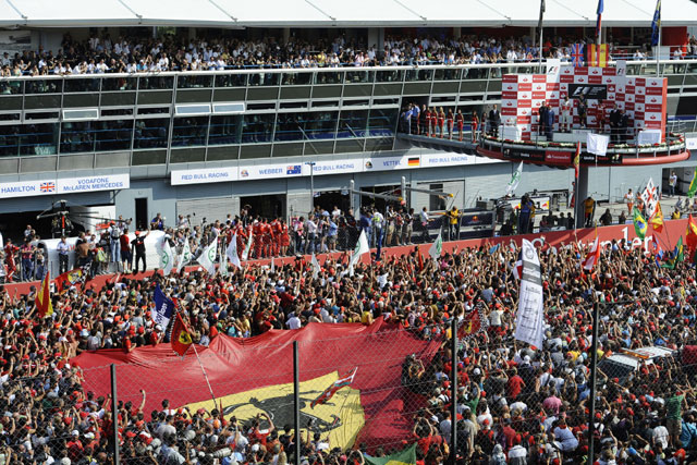 F1第13戦イタリアGP