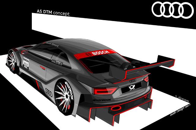アウディ、A5 DTMをフランクフルトで発表へ(2)