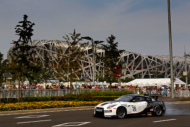 FIA GT1が北京オリンピックパークでイベント実施(1)