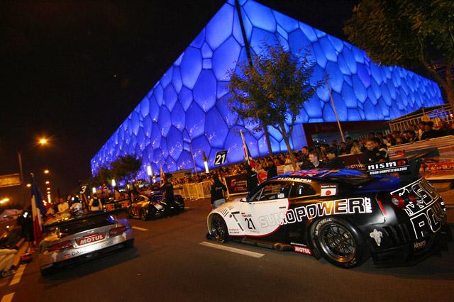 FIA GT1が北京オリンピックパークでイベント実施(2)