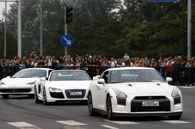 FIA GT1が北京オリンピックパークでイベント実施(4)