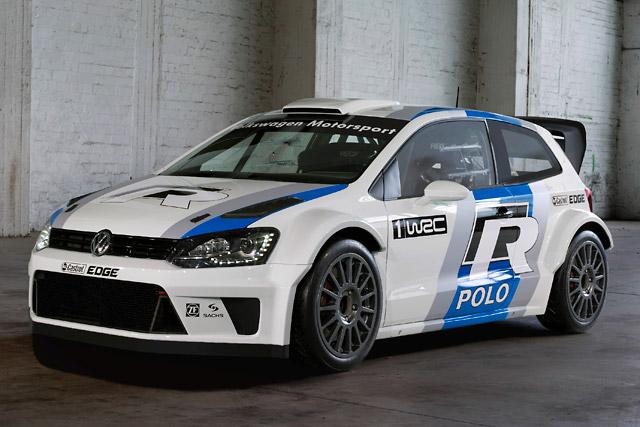 ポロR WRC、早くもテスト車両が登場(1)