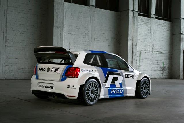 ポロR WRC、早くもテスト車両が登場(2)