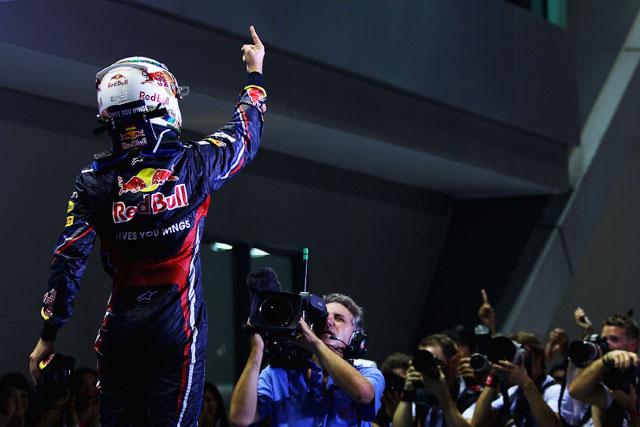 F1シンガポールGPはベッテルが独走Vも戴冠ならず(1)