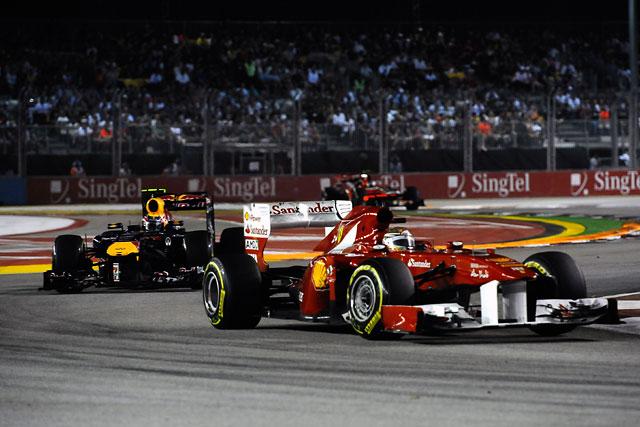 F1シンガポールGPはベッテルが独走Vも戴冠ならず(2)