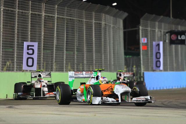 F1シンガポールGPはベッテルが独走Vも戴冠ならず(4)