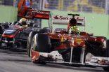 F1 | 怒り狂ったマッサ、決勝後ハミルトンに突進