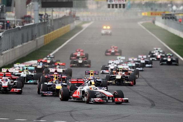 F1第16戦韓国GP決勝