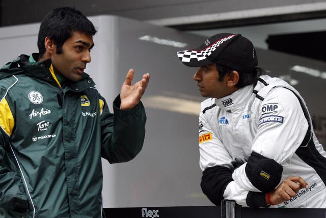 チャンドック、インドGP出場の夢がかなわず失望(1)