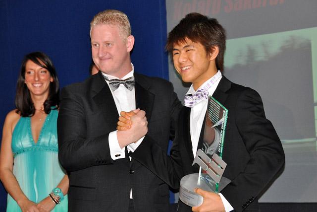 桜井孝太郎、イギリスF3ルーキークラストロフィーを得る