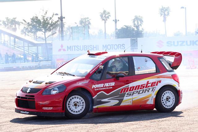 SX4 WRCも登場! MSJ 2011にラリーカー多数登場(1)