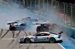 ル・マン/WEC   FIA GT1:多重クラッシュでGT-Rは二冠を逃す