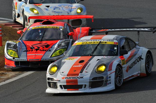 GT300は番場が逆転勝利! ミクZ4がJAF GPを制圧(4)
