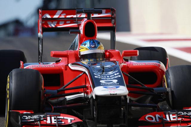 F1若手ドライバーテスト1日目