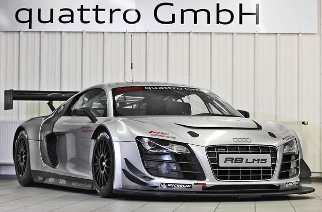 アウディ、12年用GT3『R8 LMSウルトラ』を発表(1)