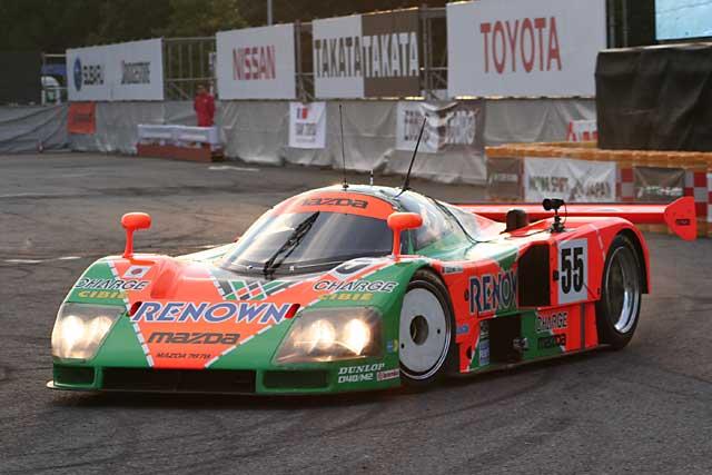 マツダ787も走るお台場モーターフェスティバル開催(1)