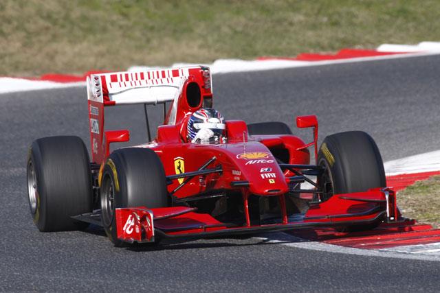 イタリアF3で活躍の若手がフェラーリF60をテスト(1)