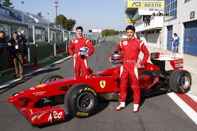 イタリアF3で活躍の若手がフェラーリF60をテスト(2)