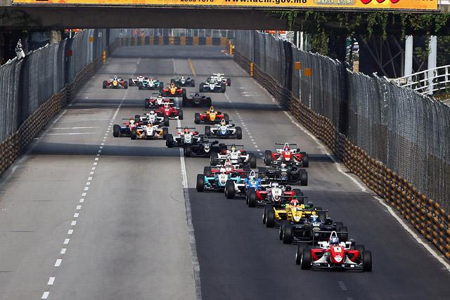 F3マカオGP:ウィットマンが予選レースを制す(2)