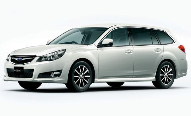 レガシィ ツーリングワゴン/B4 に特別仕様車(1)