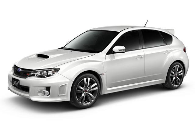 インプレッサWRX STI A-Lineの特別仕様車が発売(1)