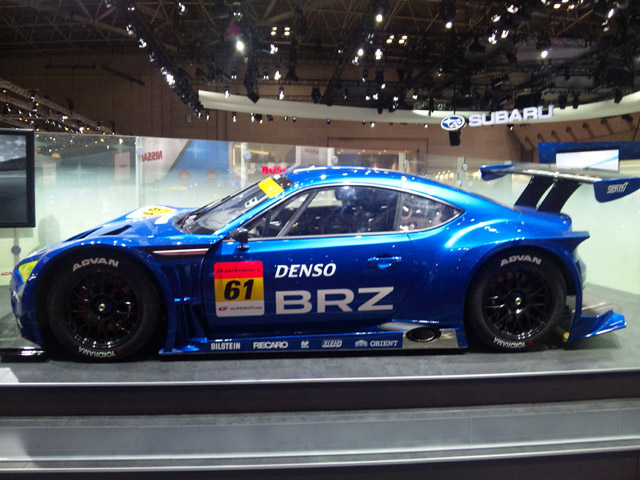 SUBARU BRZ GT300が東京モーターショーで公開(1)