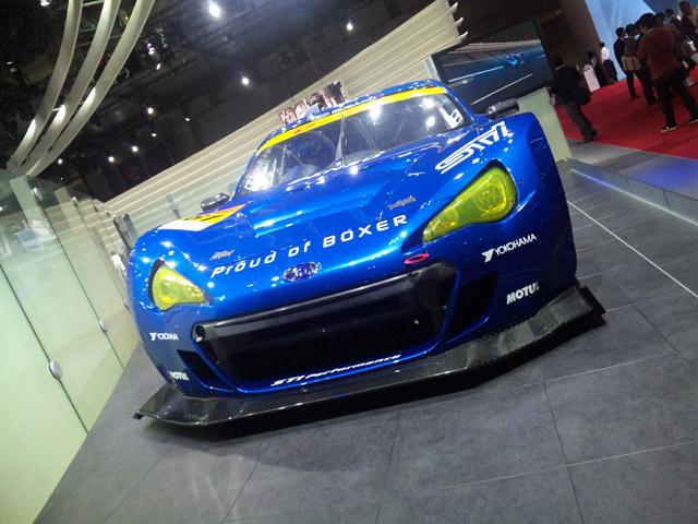 SUBARU BRZ GT300が東京モーターショーで公開(3)