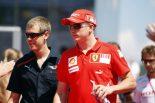 F1 | ベッテル「ライコネンの復帰は簡単ではない」