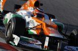 F1 | Fインディアが2日目トップ。ザウバーが2番手