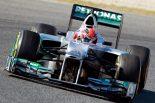F1 | ミハエル「間違いなく去年型より競争力が高い」