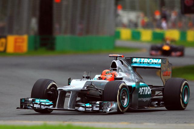 F1第1戦オーストラリアGP、フリー走行2回目の結果(1)