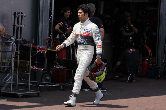 F1モナコGP公式予選Q1結果。ペレスがクラッシュ(3)