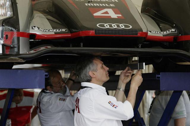 ル・マンの公開車検にアウディ登場、トリはトヨタ(5)