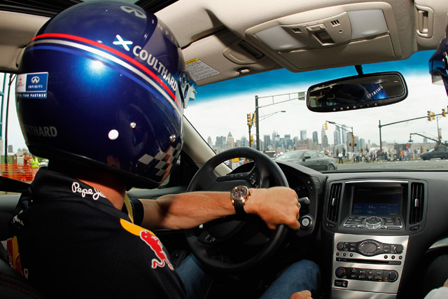 ベッテル、ニュージャージーGPのコースを走る(4)