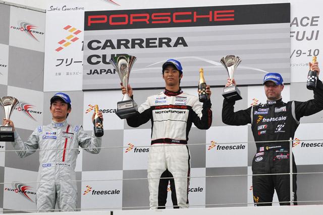 PCCJ第5戦富士で平川亮が2連勝を達成(1)