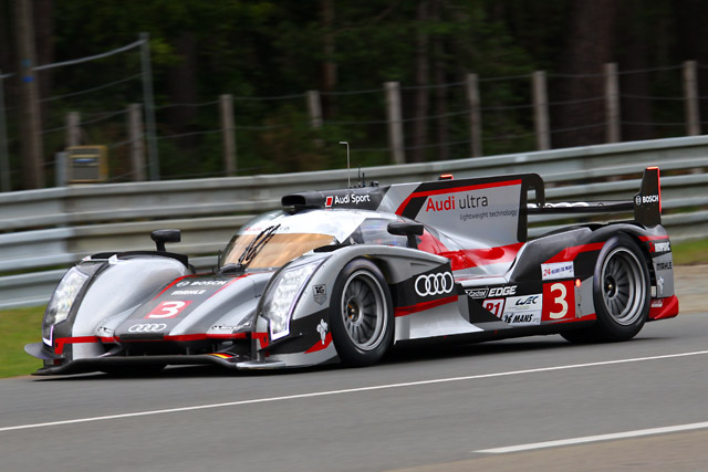ル・マン24時間:1号車アウディが初日トップに(3)