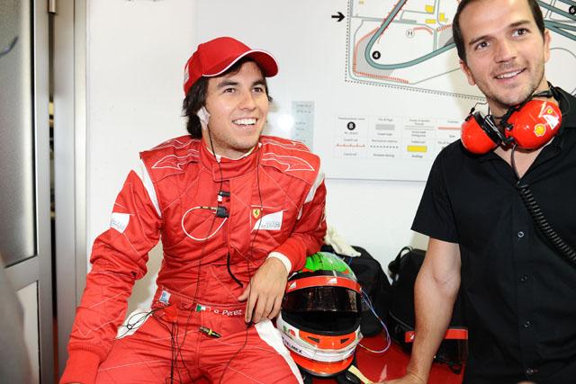 ペレス、フェラーリの助言を受け2度目の表彰台に(1)