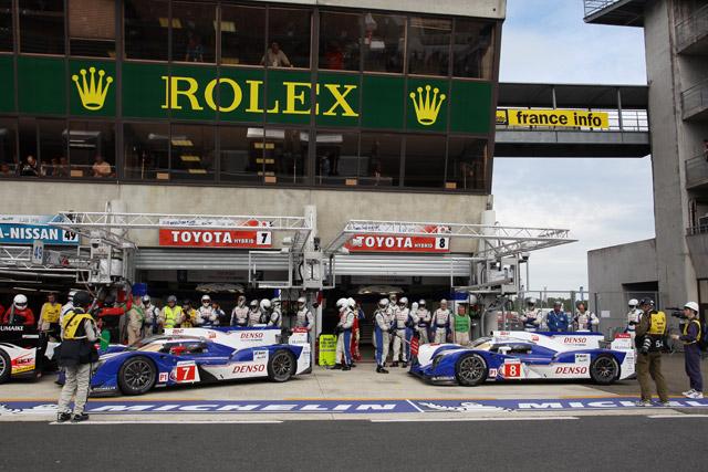トヨタTS030、トラブルを克服し予選3、5番手獲得(1)