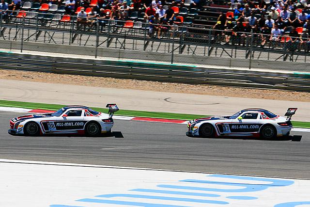FIA GT1アルガルベ:メルセデスベンツSLSがワンツー(1)