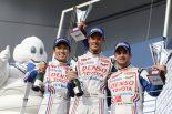 ル・マン/WEC   一貴、世界選手権の表彰台に笑顔も「目標は優勝」