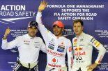 F1   シンガポールGP、予選トップ10ドライバーコメント