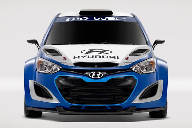 ヒュンダイ、WRC復活を発表。『i20 WRC』公開(3)