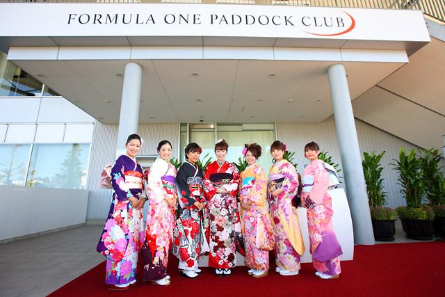 F1日本GP開幕。パドッククラブも盛況(2)