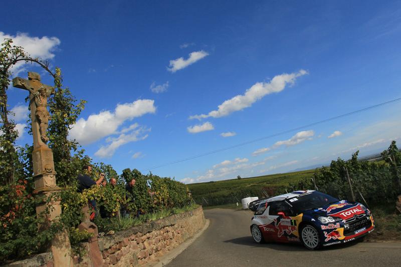 [WRC第11戦フランス] デイ1はローブ快走(1)