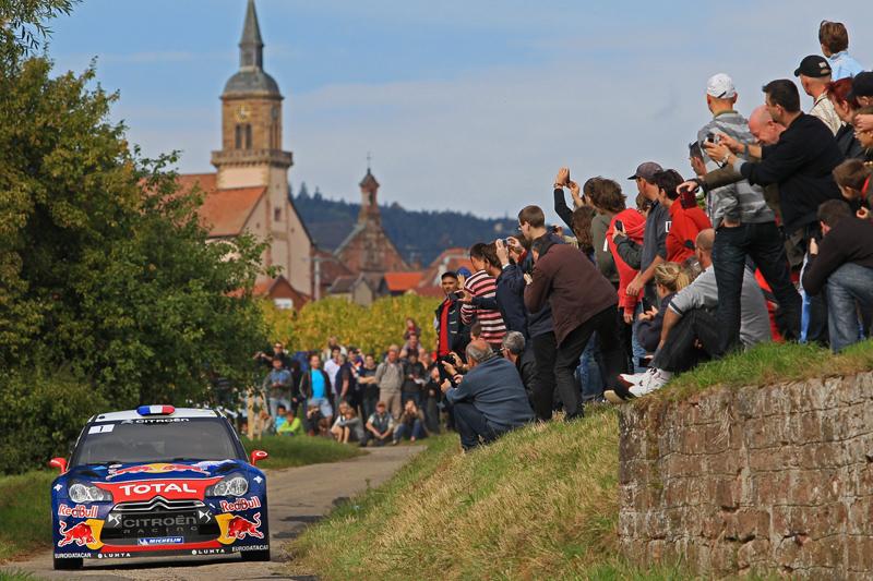 [WRC第11戦フランス] デイ2のラトバラの追撃をローブが一蹴(1)