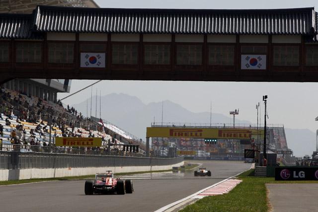 韓国GP開幕。ハミルトンがFP1最速。可夢偉14番手(3)