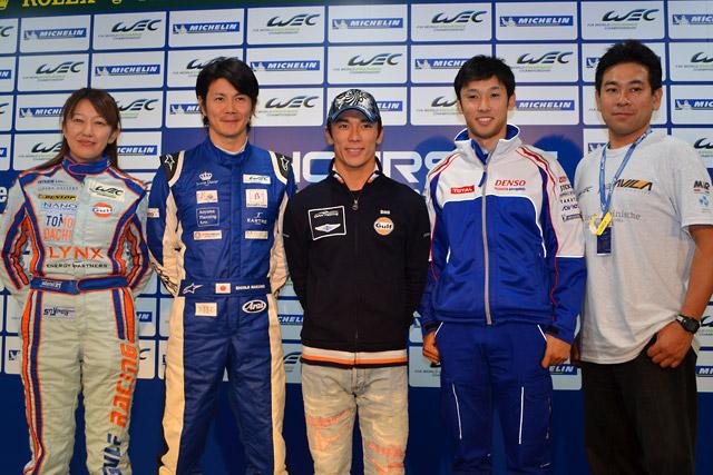 WEC参戦の日本人ドライバーが記者会見で集結(1)