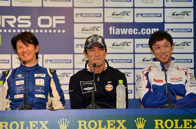 WEC参戦の日本人ドライバーが記者会見で集結(2)