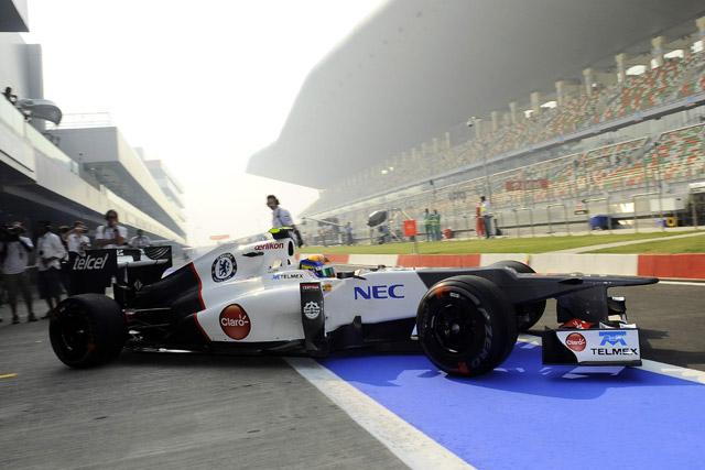 インドGPのFP1トップはベッテル。可夢偉13番手(1)